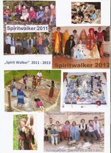 Deckblatt Mappe Spirit Walker 2011-2013